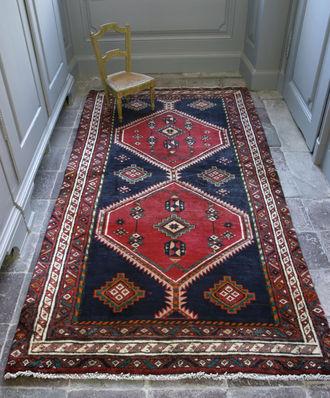 persische teppiche affordable perser teppich bidjar braun blau x cm medaillon herati muster. Black Bedroom Furniture Sets. Home Design Ideas